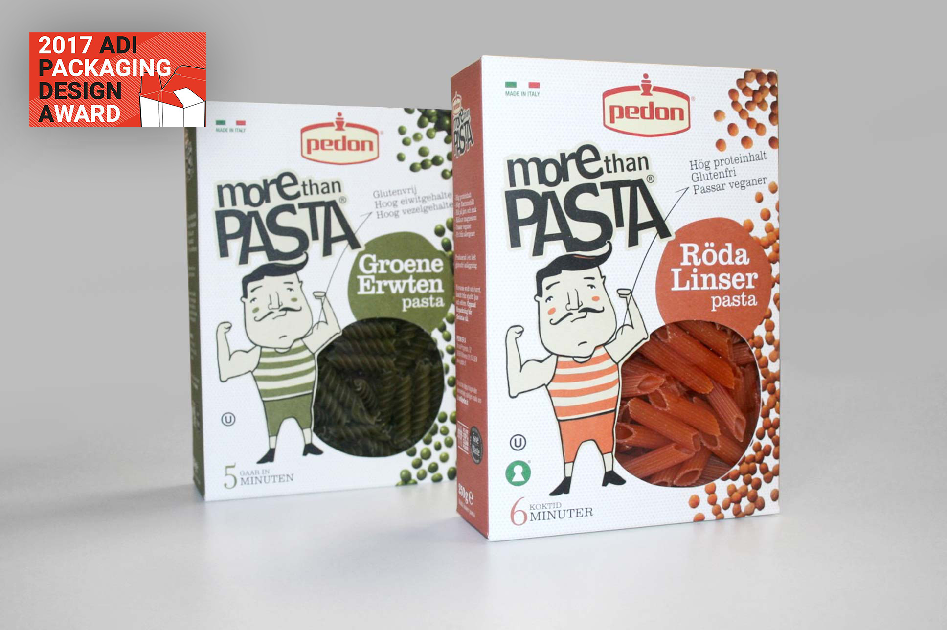 More than pasta Pedon (adi packaging design awards 2017)