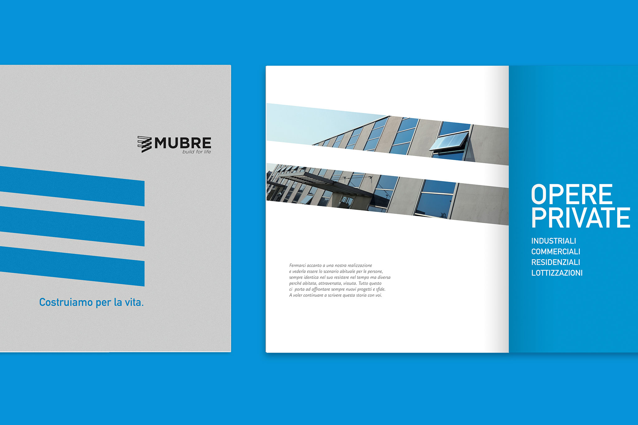 Mubre costruzioni re branding e immagine coordinata